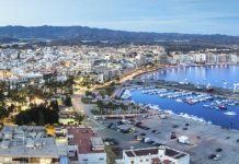 San Javier in Murcia, Costa Calida