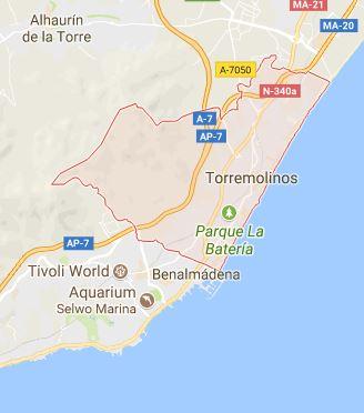 Mapa de Torremolinos