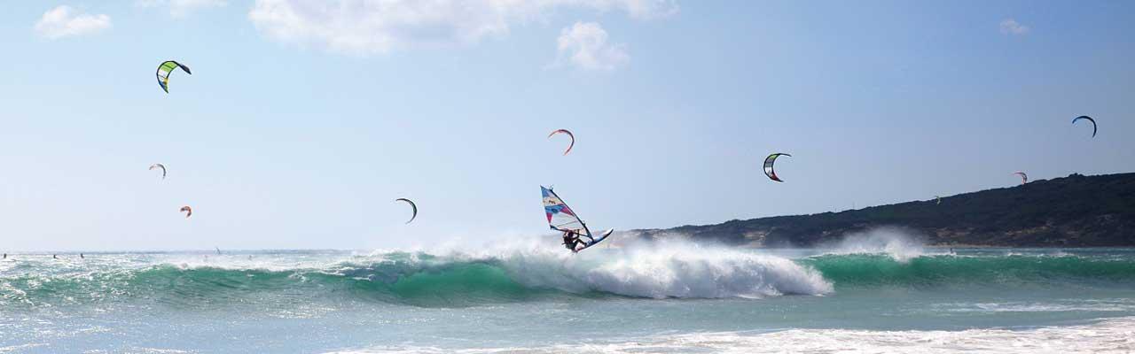 Windsurfing in Spain