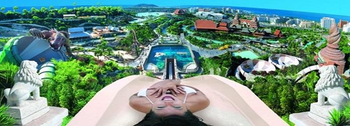 Siam Park, Torre de poder