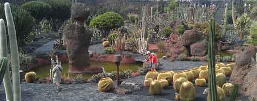 El Jardín de Cactus, Lanzarote