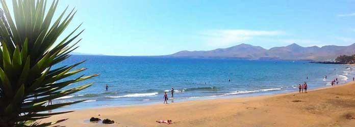 Playa Grande Beach, Lanzarote
