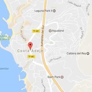 Costa Adeje Map