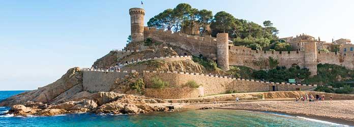 Tossa de Mar Medieval Castle