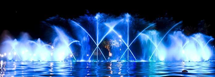 Illuminated Fountain, Salou