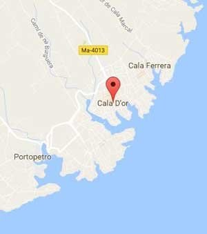Cala d'Or Map