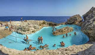Cala Egos natural pool