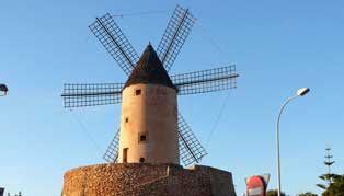 Santa Ponsa Windmill