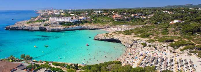 Beaches of Cala de Mallorca