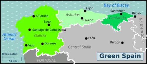 Costa Verde Map