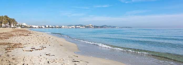 Playa d'en Bossa Beach