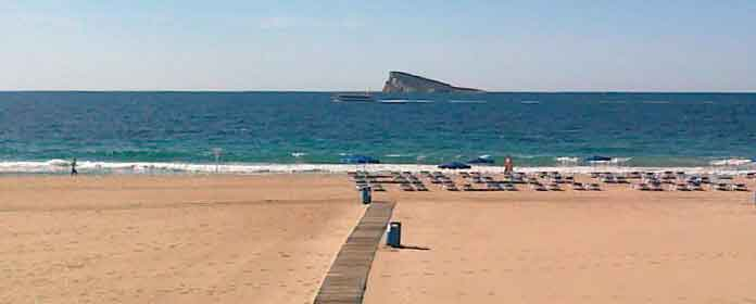 Playa de Poniente, Benidorm
