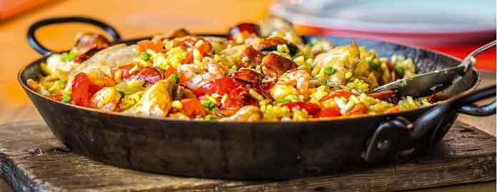 Paella de Carnes y Mariscos, Valencia