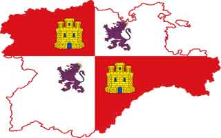 Castile and León Flag