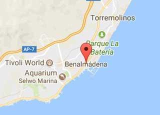 Map of Benalmadena